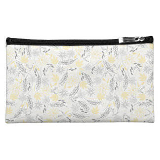 Branches, Leaves, and Flowers Cosmetic Bags