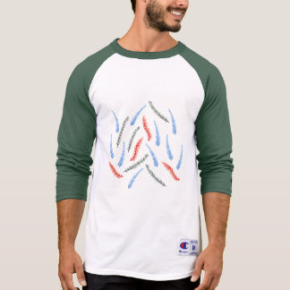 Branches Men's Raglan T-Shirt