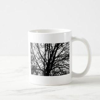 Branches Basic White Mug