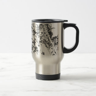 Branches Stainless Steel Travel Mug