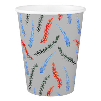 Branches Paper Cup