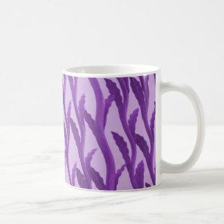 branches purple coffee mug