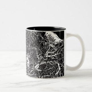Branches Two-Tone Coffee Mug