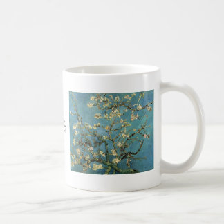 Branches with Almond Blossom by Vincent van Gogh Basic White Mug