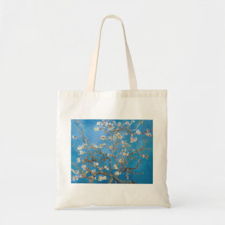 Branches with Almond Blossom Van Gogh painting Budget Tote Bag