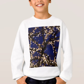 Branches with Christmas lights Sweatshirt