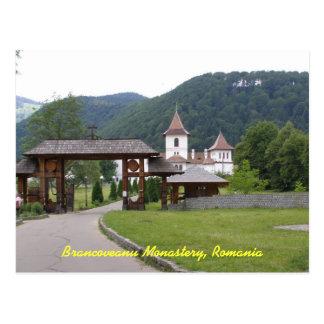 Brancoveanu Monastery Romania 1 Postcard