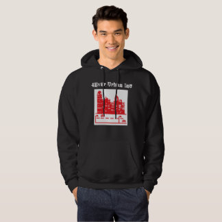 """Brand New """"4Ever Urban Hooded"""" With Text and Logo Hoodie"""