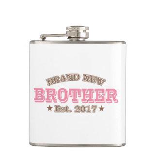Brand New Brother Est. 2017 (Pink) Flasks