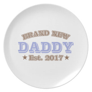 Brand New Daddy Est. 2017 (Purple) Plate