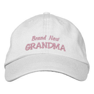Brand New GRANDMA-Grandparent's Day OR Birthday Embroidered Hat