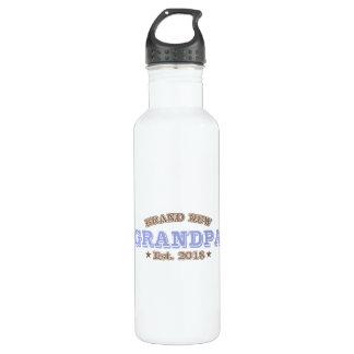Brand New Grandpa Est. 2018 (Purple) 710 Ml Water Bottle