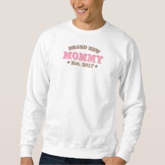 Brand New Mommy Est. 2017 (Pink) Sweatshirt