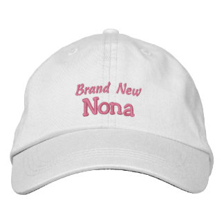 Brand New NONA-Grandparent's Day OR Birthday Embroidered Baseball Cap