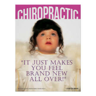 Brand New with Chiropractic Poster