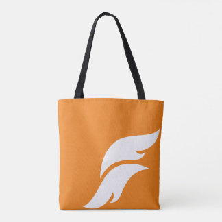 Branded Flare Design All-Over Print Tote Bag