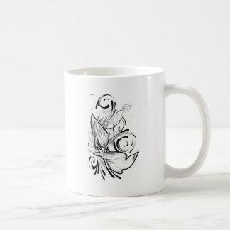 BRANDED CLASSIC WHITE COFFEE MUG