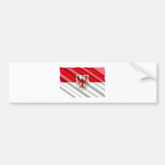 Brandenburg Flag Bumper Sticker