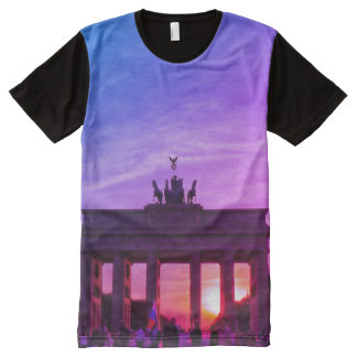Brandenburg Gate 001.2.2.F, Berlin, All-Over Print T-Shirt