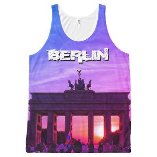 Brandenburg Gate 001.F.05, sunset, BERLIN All-Over Print Singlet
