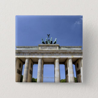 Brandenburg Gate, Berlin, Germany 15 Cm Square Badge