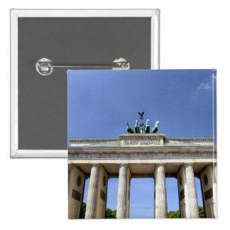 Brandenburg Gate, Berlin, Germany 15 Cm Square Badge
