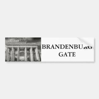 Brandenburg Gate image Bumper Sticker