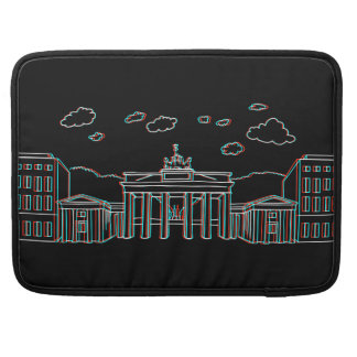Brandenburg Gate in Berlin 3-D Sleeve For MacBooks