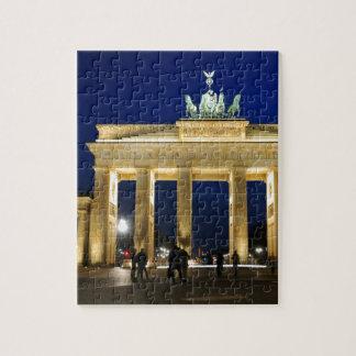 Brandenburg Gate in Berlin, Germany Puzzles
