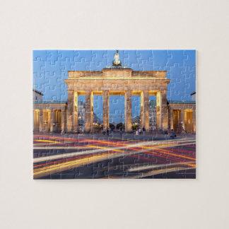 Brandenburg Gate in Berlin Jigsaw Puzzle