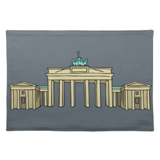 Brandenburg Gate in Berlin Placemat
