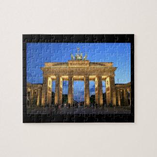 brandenburg gate night puzzles