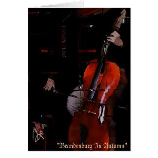 """""""Brandenburg In Autumn"""" Blank Card Edition"""