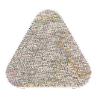 Brandenburg, Posen Atlas Map