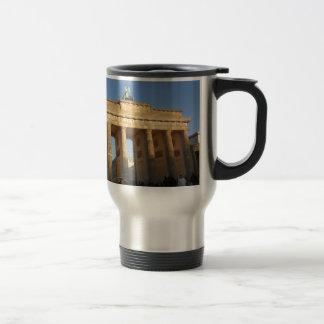 Brandenburger gate travel mug