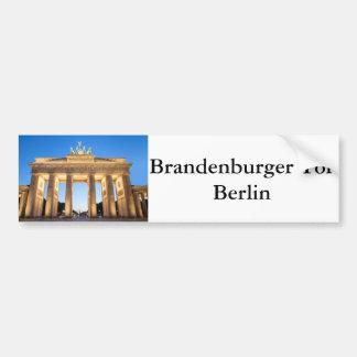 Brandenburger Tor Berlin Bumper Sticker