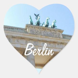 Brandenburger Tor, Berlin Heart Sticker