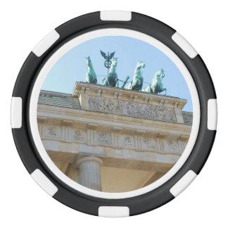 Brandenburger Tor, Berlin Poker Chips