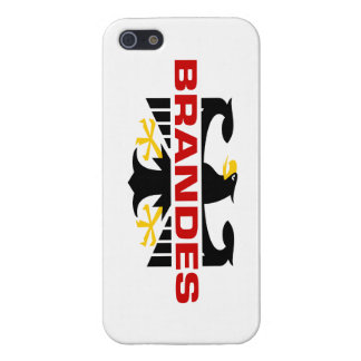 Brandes Surname iPhone 5 Cases