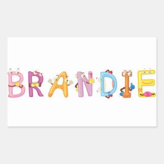 Brandie Sticker