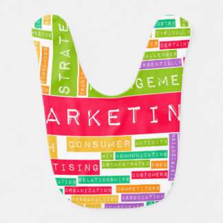 Branding and Marketing as a Business Concept Baby Bibs