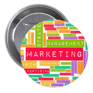 Branding and Marketing as a Business Concept 3 Inch Round Button