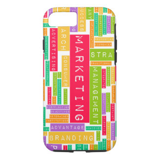 Branding and Marketing as a Business Concept iPhone 7 Case