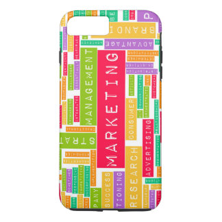 Branding and Marketing as a Business Concept iPhone 7 Plus Case