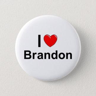 Brandon 6 Cm Round Badge