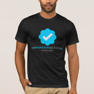 @BrandonBoykin2 - Verified - Black T-Shirt