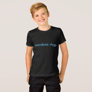 brandonv vlogs kids t-shirts
