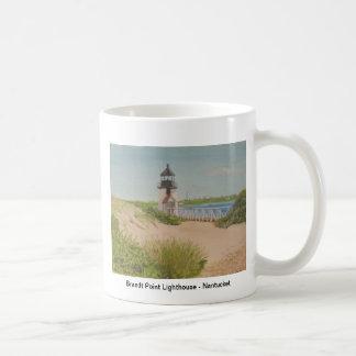 Brandt Point Lighthouse - Nantucket Basic White Mug