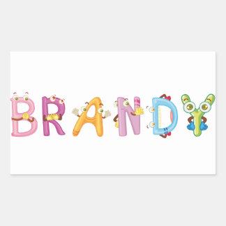Brandy Sticker