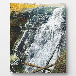Brandywine Falls Cuyahogo National Park Ohio Plaque